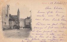 EPINAL rue de la paix écrite 1899