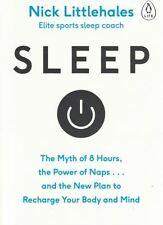Sleep by Nick Littlehales - Elite Sports Sleep Coach NEW
