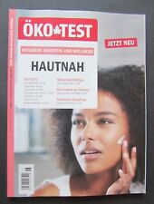ÖKO-Test 2018 HAUTNAH Sonderheft N1806 Kosmetik & Wellness ungelesen, 1A TOP
