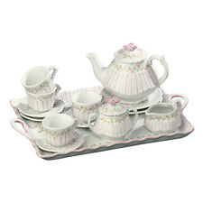 Andrea by Sadek Child's Pink Pinstripe Tea Set!  Adorable for any young lady!