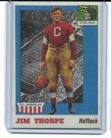 1955 Topps All American # 37 JIM THORPE ROOKIE RC REPRINT Carlisle Indians