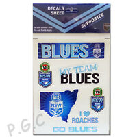 NSW Blues State of Origin iTag UV Sticker Sheet