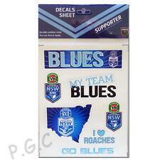 NSW Blues State of Origin iTag UV Sticker Sheet
