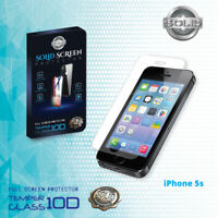 100% Genuine Tempered Glass Film Screen Protector For Apple iPhone 5 5s 5c SE
