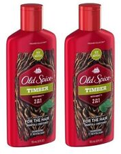Old Spice Timber 2 in 1 Hair Care 2 Bottle Pack