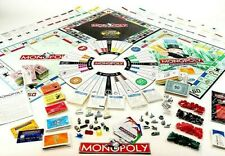 MONOPOLY Board Game Pieces Parts Replacements TOKENS MONEY CARDS DICE HOTELS