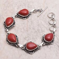 18 Gms Ab 67548 Coral Ethnic Handmade Bracelet Jewelry