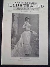 Lillian Nordica Soprano Metropolitan Opera New York City Frank Leslie's 1894
