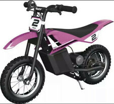 Razor Dirt Rocket Mx125 Electric-Powered Ride on Dirt Bike - Ages 7+ Pink