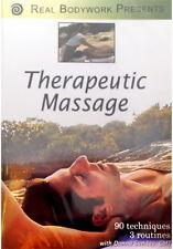 Therapeutic Massage & Spa Video On DVD - 90 Techniques