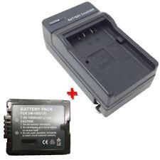 VW-VBG130 Battery +Charger for PANASONIC HDC-SD1 HDC-SD3 HDC-SD5 HDC-SD7 HDC-SD9