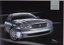 2005 JAGUAR X-TYPE 40 Page Prestige Australian Brochure 2.1 & 3.0 V6 SE & Luxury