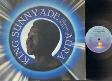 KING SUNNY ADE & and His African Beats AURA 1984 LP Stevie Wonder TONY ALLEN