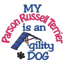 My Parson Russell Terrier is An Agility Dog Long-Sleeved T-Shirt Dc1968L