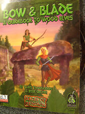 AD&D D20 system Bow & Blade Guide Wood Elves elf