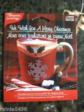 Season's Greetings We Wish You A Merry Christmas CD Holiday Favorites Music