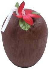 Plastic Coconut Cup With Straw