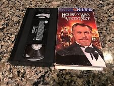 House Of Wax Rare VHS! Warner 1953 Figure Wax Horror! Vincent Price