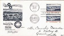 U S Stamp First Day Cover FDC October 20 1960 Automated Post Office