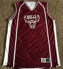CHICAGO BULLS  # 20  NBA  REVERSIBLE  BASKETBALL JERSEY BY ALLESON MEN'S X LARGE