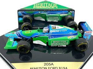 1:43 scale Boxed Onyx Benetton B194 F1 Car - J J Lehto 1994 F1 Diecast Car