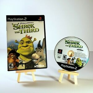 Shrek The Third For PlayStation 2 PS2 Very Good