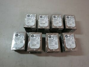 Lot of 39 HP MM1000FBFVR 1TB 7200rpm SAS Server Hard Drive Lot READ DESCRIPTION