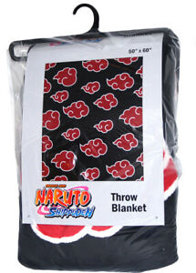 Naruto Shippuden Anti Leaf Clouds Akatsuki Throw Blanket