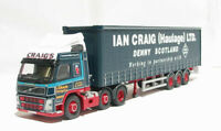 CORGI CC13512 VOLVO FM CURTAINSIDE - IAN CRAIG LTD 1:50 DIECAST - MINT IN BOX