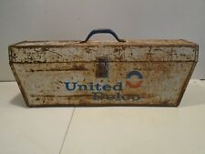 Vintage United Delco Tool Box - Tune-up Parts