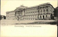 BRAUNSCHWEIG ~1900 Strassen Partie a herzoglichen Residenzschloss Schloss Castle