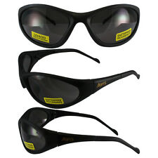 FLEXER SMOKE SAFETY GLASSES Polycarbonate Lens UV400 MOTORCYCLE SUNGLASSES