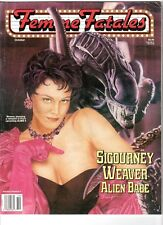 WoW! Femme Fatales V5#4 Sigourney Weaver Alien Babe! Chiller Theatre Convention!
