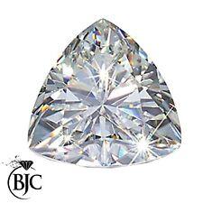 Loose Natural Mined Trillion Excellent Brilliant Cut White Diamond Diamonds
