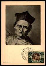 Vatican MK 1950 Concilio Trento Concile maximum carta carte MAXIMUM CARD MC cm dc51