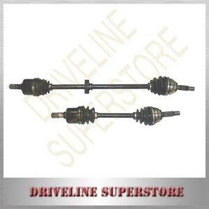 A PAIR OF NEW CV JOINT DRIVE SHAFTS FOR FORD FESTIVA  WF with 4 speed AUTO 1999-