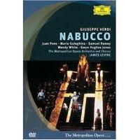 """GUISEPPE VERDI """"NABUCCO"""" DVD NEW+"""