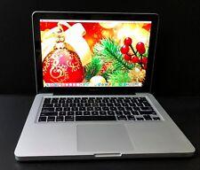 "Apple Macbook Pro 13"" Pre-Retina - Upgraded 250Gb Ssd + 8Gb Ram + Warranty"