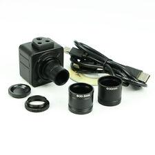 Microscope Digital C-Mount Video Camera 5MP Electronic Eyepiece USB w/ Adapter