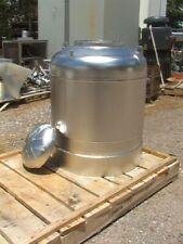 55 Gallon Heavy Duty Stainless Steel Vessel w/ Lid Al-T316-316L