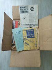 vintage Lionel SCOUT Train Set, OB in Original Carton! 1001, T, 1002,1005,1007