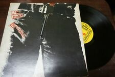 "THE ROLLING STONES - Sticky Fingers, LP 12"" FRANCE 1971 ZIPPER COVER"