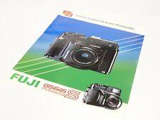 Original Fuji GS645S Rangefinder Camera Sales Brochure/Leaflet