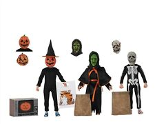 """Halloween 3 - 8"""" Scale Clothed Figure- Season of the Witch - 3 Pack - NECA"""