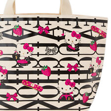 Limited HELLO KITTY☆FAUCHON Lunch Tote Bag Sanrio Japanese Valentine's Day gift