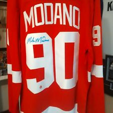 Mike Modano Signed jersey Detroit red wings XL
