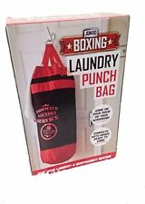 Laundry Punch Bag - Fun Way to store dirty washing - Christmas Secret Santa