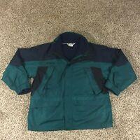 VTG Columbia Men Sz XL Ice Frost 3 in 1 Jacket Fleece Nylon Snow Ski Outerwear