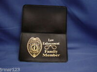 REPLACEMENT VINYL CARD HOLDER  - WALLET FAMILY MEMBER PBA FOP