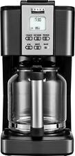 Bella - Pro Series 14-Cup Coffee Maker - Black stainless steel